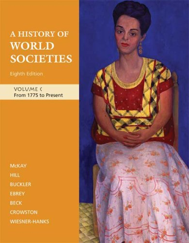 History of World Societies from 1775 to Present  8th 2009 edition cover