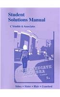 Student Solutions Manual for Intermediate Algebra  7th 2013 (Revised) edition cover