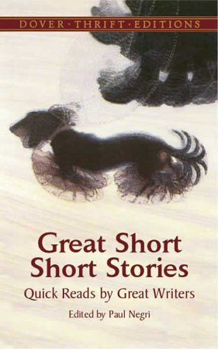 Great Short Short Stories Quick Reads by Great Writers  2005 edition cover
