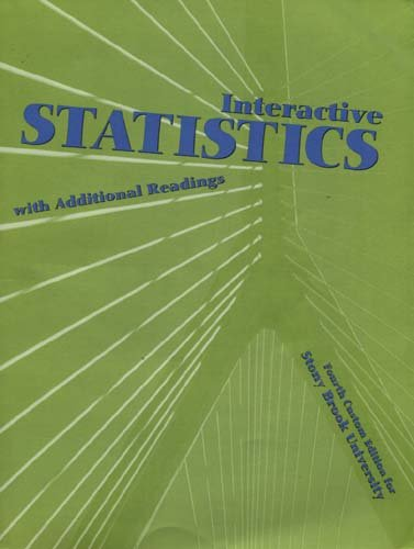 INTERACTIVE STAT.W/ADDITIONAL N/A 9780536521989 Front Cover
