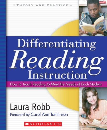 Differentiating Reading Instruction How to Teach Reading to Meet the Needs of Each Student  2008 edition cover