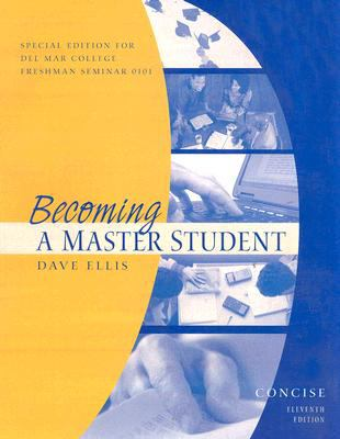 Becoming a Master Student  11th 2007 9780618816989 Front Cover