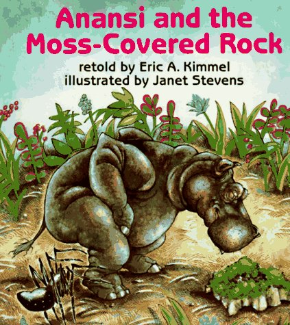Anansi and the Moss-Covered Rock  Reprint  edition cover