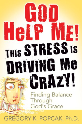 God Help Me! This Stress Is Driving Me Crazy! - Finding Balance Through God's Grace 2nd edition cover
