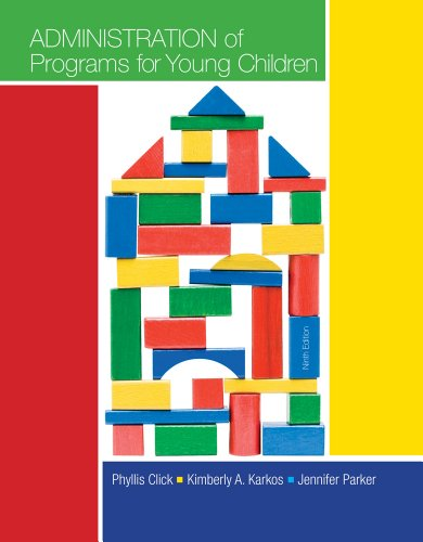 Administration of Programs for Young Children  9th 2014 edition cover