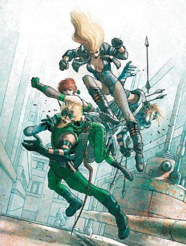 Green Arrow/Black Canary - Five Stages   2010 9781401228989 Front Cover