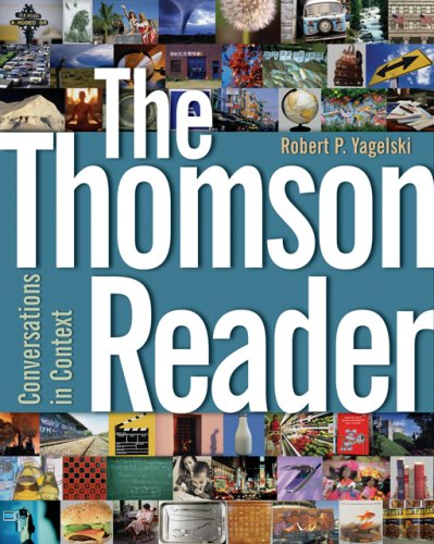 Thomson Reader Conversations in Context  2007 edition cover