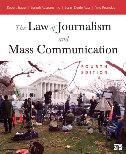 Law of Journalism and Mass Communication  4th 2014 (Revised) 9781452239989 Front Cover