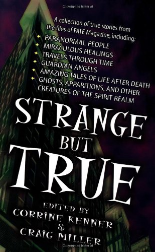 Strange but True From the Files of FATE Magazine  1997 edition cover