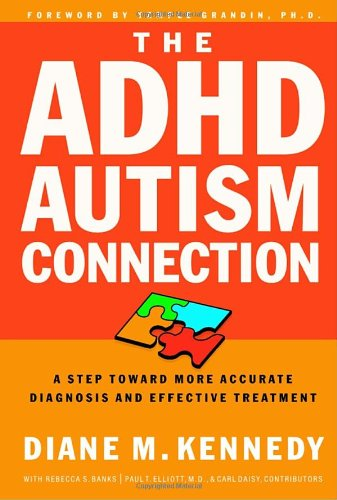 ADHD-Autism Connection A Step Toward More Accurate Diagnoses and Effective Treatments  2001 9781578564989 Front Cover