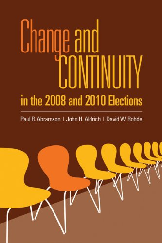 Change and Continuity in the 2008 and 2010 Elections   2012 (Revised) edition cover