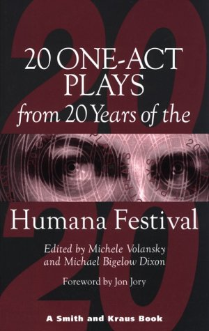 20 One-Act Plays from 20 Years at the Humana Festival, 1975-1995 1st edition cover