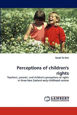 Perceptions of Children's Rights   2010 9783838341989 Front Cover