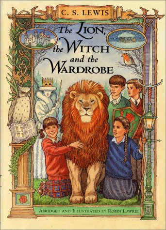 Lion, the Witch and the Wardrobe A Graphic Novel Abridged edition cover