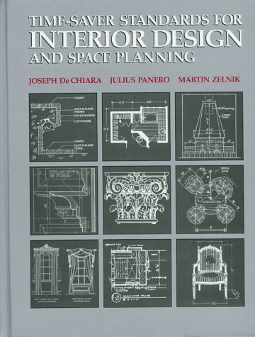 Time-Saver Standards for Interior Design and Space Planning  N/A 9780070162990 Front Cover