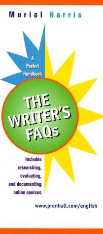 Writer's FAQs A Pocket Handbook  2000 edition cover