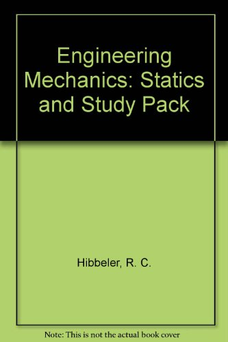 Engineering Mechanics Statics and Study Pack 13th 2013 edition cover
