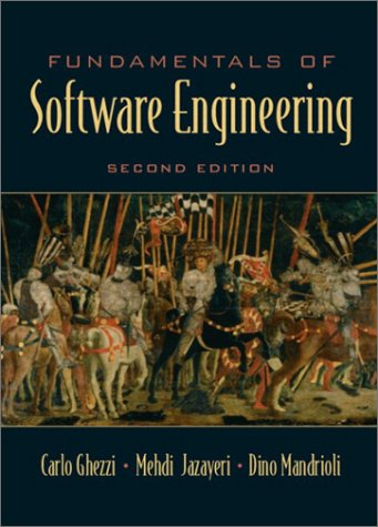 Fundamentals of Software Engineering  2nd 2003 edition cover