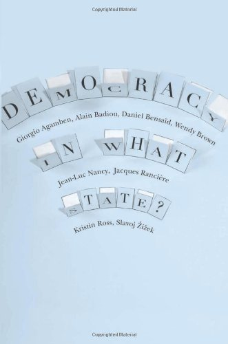 Democracy in What State?   2012 9780231152990 Front Cover