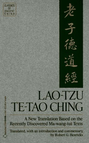 Lao-Tzu Te-Tao Ching N/A edition cover