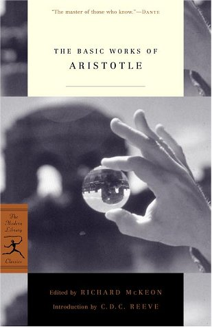 Basic Works of Aristotle   2001 9780375757990 Front Cover