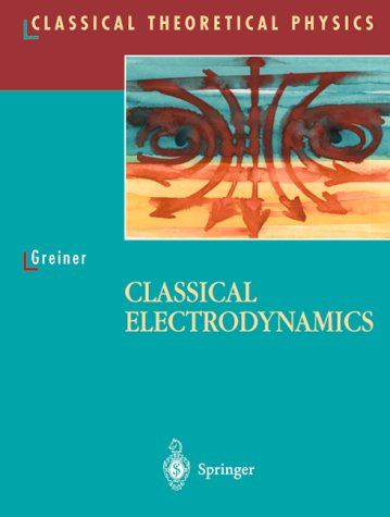 Classical Electrodynamics   1998 edition cover