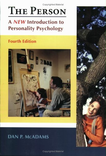 Person A New Introduction to Personality Psychology 4th 2006 edition cover