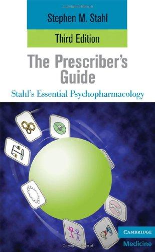 Prescriber's Guide  3rd 2009 edition cover