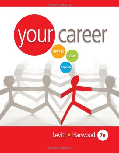 Your Career How to Make It HappeN 7th 2010 9780538730990 Front Cover