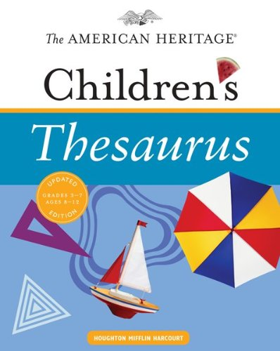American Heritage Children's Thesaurus  N/A 9780547215990 Front Cover