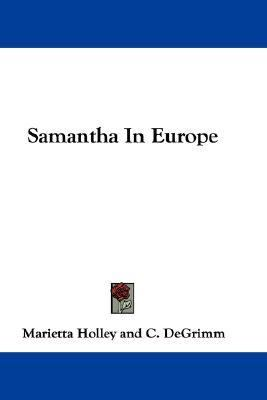 Samantha in Europe  N/A 9780548292990 Front Cover