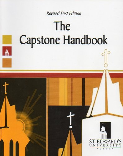 Capstone Handbook   2008 (Revised) 9780757559990 Front Cover