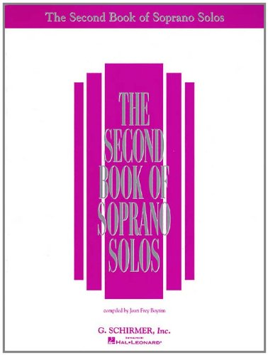 Soprano Solos  N/A edition cover