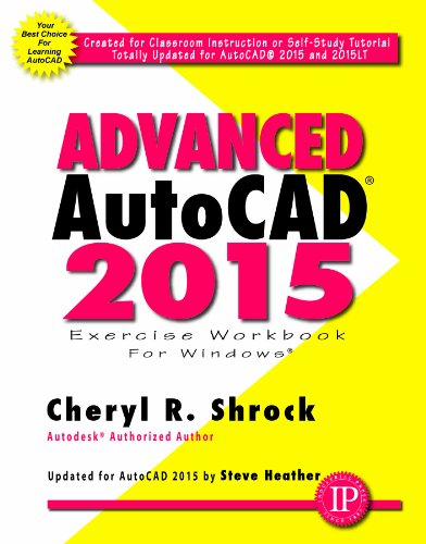Advanced AutoCAD 2015 Exercise Workbook   2014 edition cover