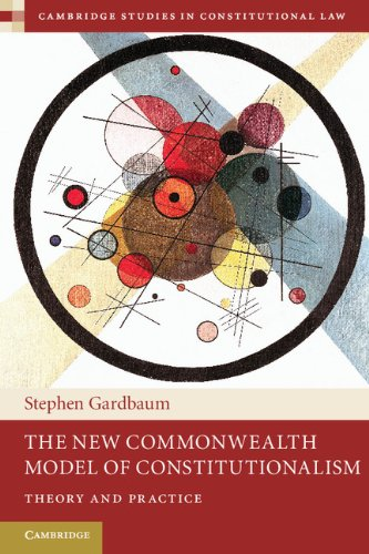 New Commonwealth Model of Constitutionalism   2013 edition cover