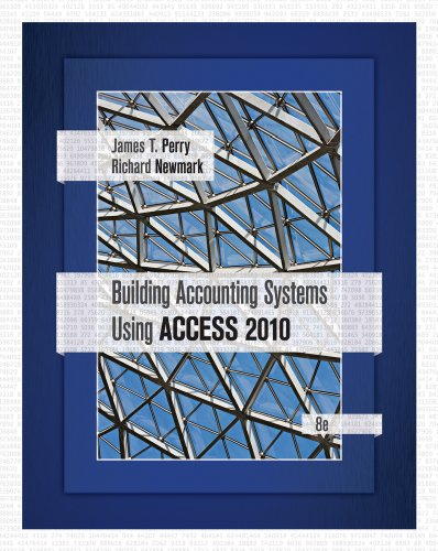 Building Accounting Systems Using Access 2010  8th 2012 edition cover