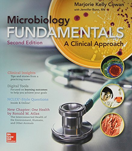 Combo Microbiology Fundamentals with Connect Access Card  2nd 2016 9781259629990 Front Cover
