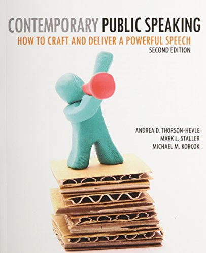 Contemporary Public Speaking How to Craft and Deliver a Powerful Speech 2nd (Revised) edition cover