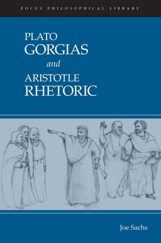 Plato Gorgias and Aristotle Rhetoric   2009 edition cover