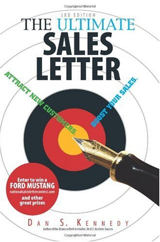 Ultimate Sales Letter Attract New Customers. Boost Your Sales 3rd 2006 edition cover