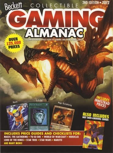 Beckett Gaming Almanac-#02 N/A 9781936681990 Front Cover