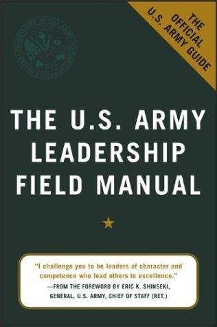 U. S. Army Leadership Field Manual   2004 edition cover