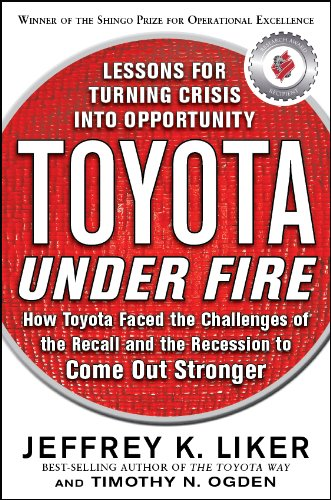 Toyota under Fire Lessons for Turning Crisis into Opportunity  2011 edition cover