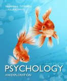 Psychology: An Exploration 3rd 2014 edition cover