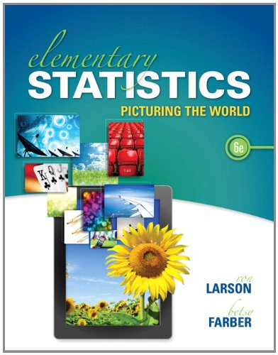 Elementary Statistics Plus NEW MyStatLab with Pearson EText -- Access Card Package  6th 2015 9780133864991 Front Cover