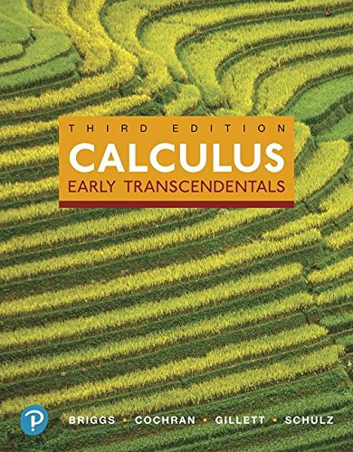 Calculus Early Transcendentals and Mylab Math with Pearson EText -- 24-Month Access Card Package 3rd 2019 9780134995991 Front Cover