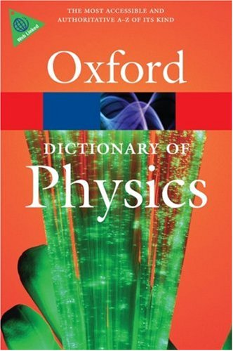 Dictionary of Physics  6th 2009 edition cover