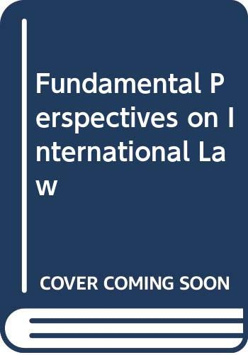 Fundamental Perspectives on International Law  2nd 1995 9780314063991 Front Cover