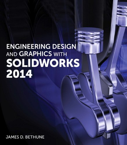 Engineering Design and Graphics with SolidWorks 2014   2015 edition cover