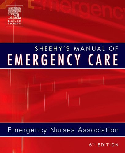 Sheehy's Manual of Emergency Care  6th 2005 (Revised) edition cover